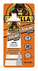 Gorilla  100% Silicone  Sealant  Clear  2.8 oz.
