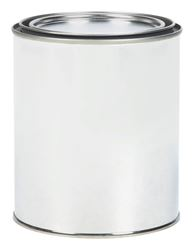 Ace  Metal  Paint Can  1 qt. Silver