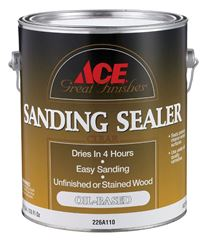 Ace  Oil-Based  Sanding Sealer  Clear  1 gal.
