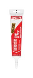 Loctite  Acrylic  Tub and Tile Adhesive Caulk  White  5.5 oz.
