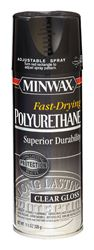 Minwax  Indoor  Clear  Gloss  Fast Drying Polyurethane Spray  11.5 oz.