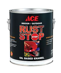 Ace  Gloss  Ultra White  Rust Stop Oil-based Enamel Paint  400g/L  White  1 gal.