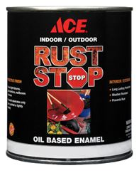 Ace  Gloss  Deep Tone  Rust Stop Oil-based Enamel Paint  400g/L  Tintable Base  1 qt.