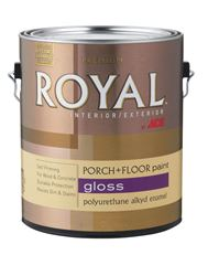 Ace  Gloss  Polyurethane Enamel Porch + Floor Paint  250g/L  Slate Gray  1 gal.