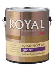 Ace  Gloss  Polyurethane Enamel Porch + Floor Paint  250g/L  Steel Wool Gray  1 gal.