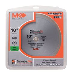 M.K. Diamond  10 in. Dia. Diamond  Circular Saw Blade  For Tile and Marble