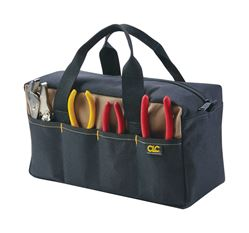 CLC  Tool Tote  6 in. H x 14 in. L x 5-1/2 in. W 8 outside pockets