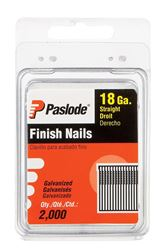 Paslode  2 in. L 18 Ga. Galvanized  Finish  Brad Nails  2,000 pk