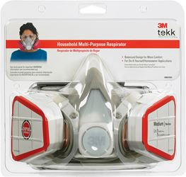 3M  Household  Half-Face Mask Respirator  1 pk