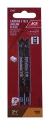 Ace  Carbon Steel  U-Shank  3-5/8 in. L Jig Saw Blade  10 TPI 2 pk