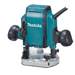 Makita Plunge Router 27,000 rpm 8 Amp 1/4 in.