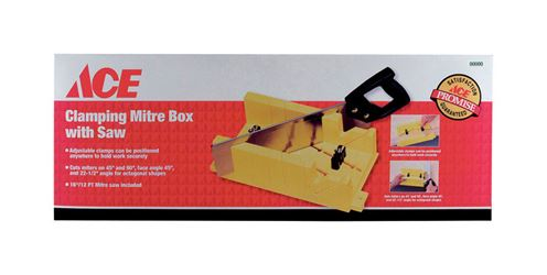 Ace  Clamping Mitre Box with Saw
