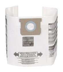 Craftsman  Wet/Dry Vac Filter Bag  5-8 gal. 3 pk