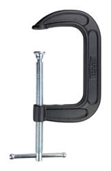 Bessey  Steel  Adjustable  C-Clamp  5 in.  x 3 in. D