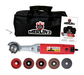 Merlin2  22mm  Dia. Mini Angle Grinder  13,000 rpm 110 volts