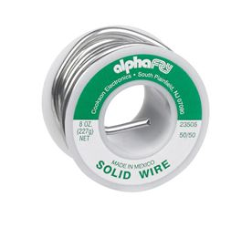 Alpha Fry  Tin / Lead  For Non-Electrical Solid Wire Solder  8 oz. 50% Tin, 50% Lead  For Non-Electr