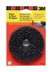 3M  4 in. Dia. Black Oxide  Paint and Rust Stripper  1/4 in.