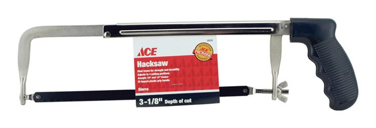 Ace  12 in. L Economy Hacksaw