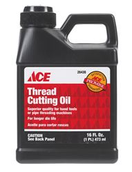 Ace  16 oz. For Use on brass, copper, aluminum, stainless steel, iron Thread Cutting Oil
