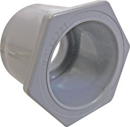 Cantex  1 to 3/4 in. Dia. PVC  Reducing Bushing