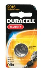 Duracell  Security Battery  2016  3 volts 1 pk
