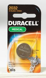 Duracell  Watch/Electronic Battery  2032  3 volts 1 pk
