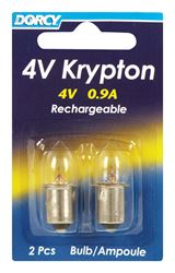 Dorcy  Flashlight Bulb  4 volts Krypton