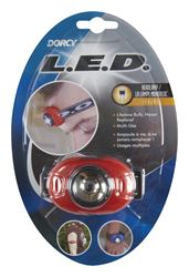 Dorcy  25 lumens Headlight  LED  CR2032  Assorted