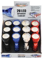 Blazing LEDz  28 LED  Flashlight  LED  AAA  Assorted