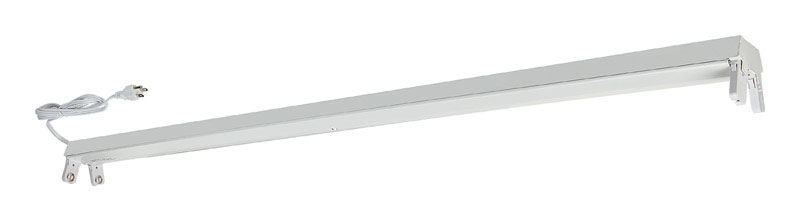 Lithonia  48 in. L 2 lights T8  Fluorescent Light Fixture  Shoplight