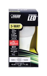 FEIT Electric  3 Way LED Bulb  5/10/16 watts 500/1050/1600 lumens 2700 K A-Line  A30  Soft White  30
