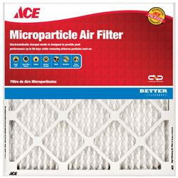 Ace  20 in. L x 15 in. W x 1 in. D Pleated  Air Filter  10 MERV