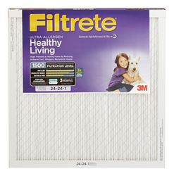 3M  Filtrete  24 in. W x 24 in. L x 1 in. D Air Filter