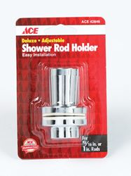 Ace  Chrome  Shower Rod Holder