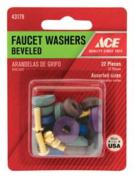 Ace  1-7/8 in. Dia. Synthetic Rubber  Beveled Faucet Washer  10