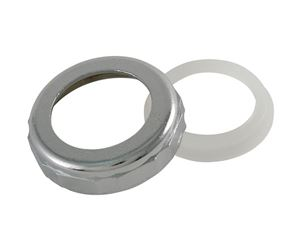 Ace  1-1/2 in. Dia. Chrome  Slip Joint Nut and Washer  1