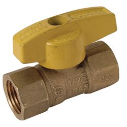 BrassCraft Gas Ball Valve Brass