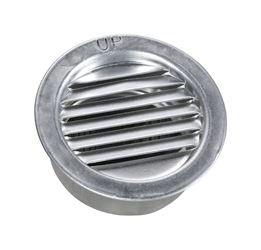 Air Vent  Mini Louver  2 in. W Silver