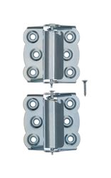 Ace  2.75 in. H x 2-3/4 in. L Zinc  Spring Return 2  2-3/4 in. Screen/Storm Self Closing Hinge