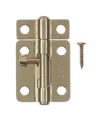Ace 2.5 in. L Brass-Plated Steel Barrel Bolt