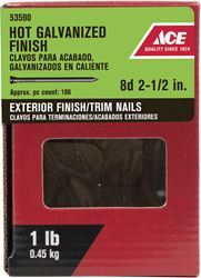 Ace  Countersunk  2-1/2 in. L Finishing  Nail  Hot-Dipped Galvanized  1 lb.
