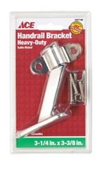 Ace  Steel  Heavy Duty Hand Rail Bracket  3-3/8 in.