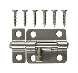 Ace 2.5 in. L Polished Stainless Steel Heavy Duty Barrel Bolt
