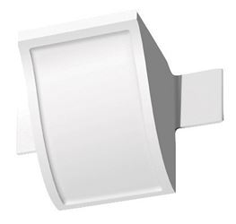 4-1/8 inch Connector Block 4-1/8 in. x 4-1/8 in. L Prefinished White