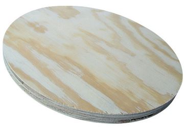 42 In. Round Table Top AC Plywood