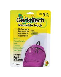 GeckoTech  Reusable  Hook  Plastic  5 lb. 1 pk
