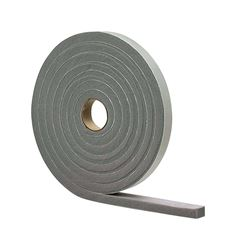 M-D Building Products  Door  Vinyl and Foam  17 ft. L x 1/8 in.  Weather Stripping Tape  Gray