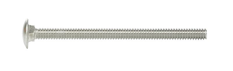 Hillman  1/4  Dia. x 3-1/2 in. L Stainless Steel  Carriage Bolt  25 pk