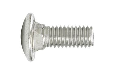 Hillman  0.375 in. Dia. x 3 in. L Stainless Steel  Carriage Bolt  25 pk