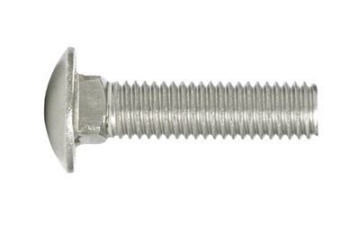 Hillman  1/2 in. Dia. x 2 in. L Stainless Steel  Carriage Bolt  25 pk